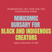 BIPOC Mini-Comic Bursary is Open for Submissions!