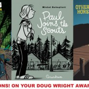 Three Doug Wright Award Nominations!
